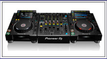 "High-End-DJ-Set, Player mit 7"" Vollfarb-Display,  96 kHz/24-Bit Soundkarte, 32-Bit D/A-Wandler, Frequenzbereich: 4 - 40,000 Hz, Verzerrung: < 0,002 % (USB), im Profi-Case, Mixer: 6 Sound FX in Studioqualität sind für jeden Kanal verfügbar, 96 kHz/64-Bit-D"